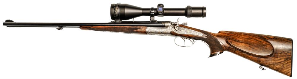 hammer double rifle Jakob Koschat - Ferlach, 8x57IRS, #261743,  with exchangeable barrels, § C, accessories