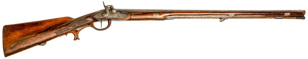 Percussion shotgun Ainsidl in Vienna, 20 bore, #1, frei ab18