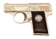 Walther Mod. 9, luxury model, .25 ACP, #195074N, § B