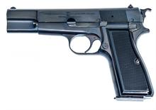 FN Browning Hi-Power M35, 9 mm Luger, #T247293, § B acc.