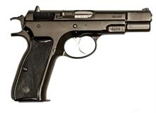 CZ 75, 9 mm Luger, #164110, § B accessories