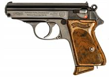 Walther Zella-Mehlis, PPK, 7,65 Browning, #827708, § B (W 3491-17)