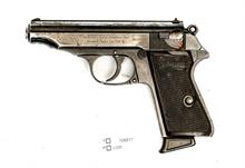 Walther - Zella-Mehlis, Mod. PP, 7,65 Browning, #818347, § B, Zub
