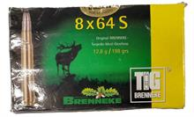 rifle cartridges 8x64S, Brenneke, § unrestricted