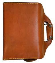 cartridge bag of leather