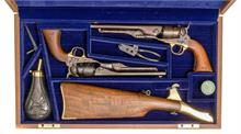 Perkussionsrevolverpaar Colt 1860 Army Commemoratice-Set US Cavalary, .44, #US0862 & #0862US, § B Modell vor 1871 Zub.