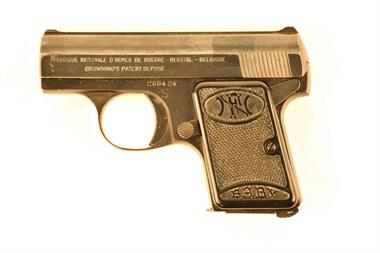 FN Browning Baby, 6,35 Browning, #285424, § B