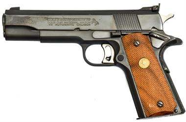 Colt Government Mark IV Series 70, Gold Cup National Match, .45 ACP, #70N66648, § B, Zub.