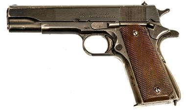Colt Government M1911A1 Austrian Army, Union Switch & Signal Co., .45 ACP, #2047172, § B