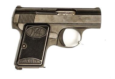 FN Browning Baby, 6,35 Browning, #458520, § B