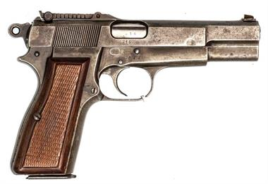 FN Browning High Power M35 Wehrmacht, 9 mm Luger, #214b, § B