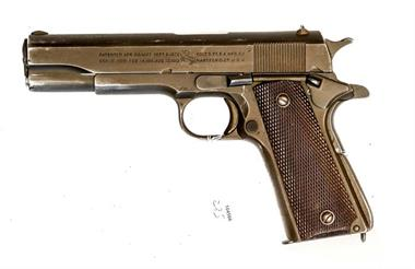 Colt Government 1911A1 US-Armee, .45 ACP, #1536968, § B