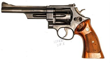 Smith & Wesson model 28-2, .357 Magnum, #N544684, B accessories