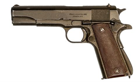 Colt Government 1911A1, производство Ithaca, .45 ACP, #2097489, § B