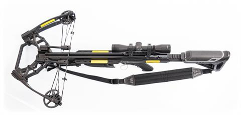 Compound crossbow Poelang Archery model Ballistic 410, 220 pds, with scope, § unrestricted (W2734-19)